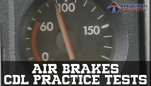 Trucker Country Air Brakes CDL Practice Tests